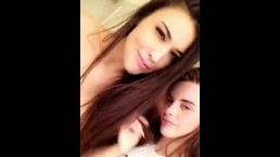 Allison Parker And Rainey James Having Fun