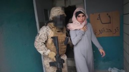 TOUR OF BOOTY – Arab Hooker Satisfies American Soldiers In A War Zone!