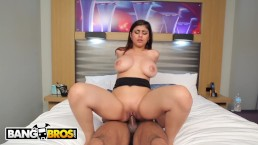 BANGBROS – Mia Khalifa Is Ready For Asante Stone's Big Black Dick!