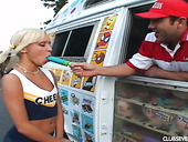 Cheerleader With Pigtails Kacey Jordan Is Fucked By Kinky Ice Cream Seller