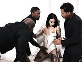 Three Black Guys Fuck Super Hot Tattooed Temptress Joanna Angel