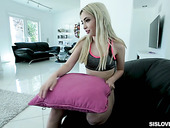 Voluptuous Blonde Jane Wilde Gets Intimate With Her Stepbrother