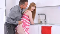 MyBabySittersClub – Babysitter Stuck In Sink Fucked By Boss