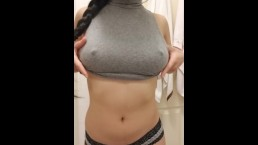 Cute Chinese Teen Showing Her Big Tits!