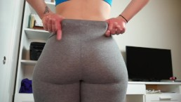 Ashley Alban Quickie Leggings Joi [60fps]