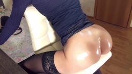 First Anal On Camera Of Russian Hot Teen Girl With A Big Ass And Cum Facial