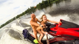 Public Anal Ride On The Jet Ski In The City Centre. Mia Bandini