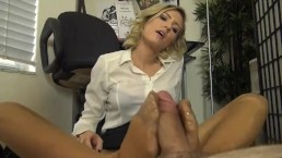 Boss Nylon Footjob
