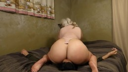 Hot Big Ass BBW Facesitting Lucky Slave