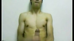 Cute Korean Twink Jerks Off His Big Dick