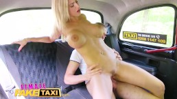 Female Fake Taxi Horny Blondes Big Tits Bounce In Dirty Cab Sex