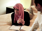Arab Wife In Hijab Ella Knox Serves Her Husband Like Nobody Else Before