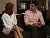 Yummy Masseuse Wearing Hijab Cadey Mercury Is Serving Her Client At The Highest Level