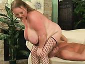 Ugly As Hell SSBBW Mature Slut Sienna Hills Rides Big Dick