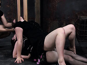 Kinky Girl Can Take Much In Bondage Play Session