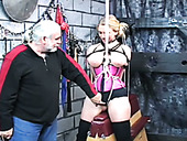 Horny Bondage Master Makes This Blonde's BDSM Experience The Best