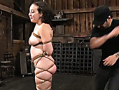 Bondage Porn Actress  Loves The Way Kinky Dude Tortures Her