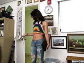 Brazilian Temptress Gina Valentina Shows A Blowjob Master Class Before A Steamy Pounding