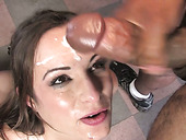 Bunch Of Black Freaks Mouth Fuck Dumpy Brunette Tramp Amber Rayne