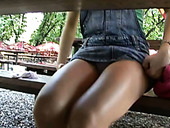 Sweet Czech Cutie Will Give Nice Head In The Park For Money