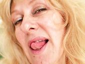Fat Czech Teacher Oldriska Likes To Satisfy Pussy With Dildo Toy