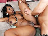 Nyomi Banxxx Shakes Her Ebony Nipples