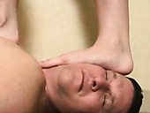 Two Kinky Sex Dolls Perform Hard Foot Fetish To One Freaky Stud