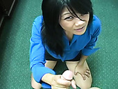 Exotic Asian Temptress Gives Her Lover One Hell Of A Handjob