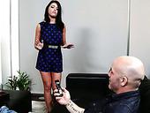 Skilled Cock Sucker Adriana Chechik Shows Off Her Talent To Derrick Pierce