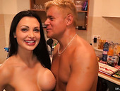 Fake Tittied Harlot Aletta Ocean Gets Fucked And Shows Creampied Pussy