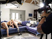 Slut Alexis Fawx Gives An Interview After Taking Part In Lesbians Scene