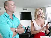 Hot Blooded Stud Fucks Juicy Booty Of Sex-appeal Whore Alexis Fawx