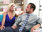 Fucking Hot Harlot With Fake Boobs Parker Swayze Gets Rammed