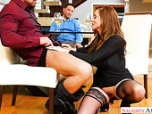 Stunning Milf Ariella Ferrera Is Fucked In The Presence Of Her Kinky Cuckold Boyfriend