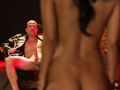 Gorgeous Exotic Babe Asa Akira Pleases Her Master