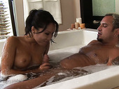 Awesome Babe Asa Akira Washes And Pleases One Of Her Customers