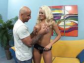 Slutty Blonde Briana Blair Is Fucked By Hot Tempered Camera Man