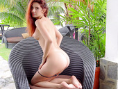 Red Haired Hottie Agatha Vega Dildo Fucks Her Tight Juicy Pussy