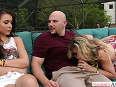 Bald Headed Stud J Mac Fucks Two Spoiled Chicks And Makes Them Fully Satisfied