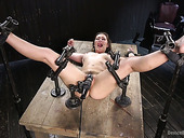 Curvy Babe Dani Daniels Gets Punished In The Torture Room