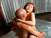Hot Tempered Japanese Bimbos Mai Mori Hops On A Hard Dick