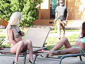 Attractive Blondie Elsa Jean Hooks Up With Stepbrother Of Her Best Friend