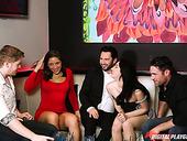 Whorish Babe Eva Lovia Takes Part In Crazy Group Sex