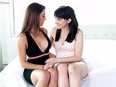 Sensual Lesbian Eva Long Is Taking Part In Steamy Threesome Sex