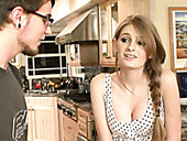 Sweet Andcute Blonde Girl Faye Reagan Will Suck Cock Here