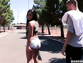 Slutty Babe Gianna Nicole Gets Rammed In The Public Toilet