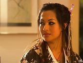 Gorgeous Hottie In Kimono Gianna Lynn Serves Horny Client