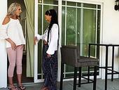 Fabulous Lesbian Chick Gina Valentina Fucks Sex-appeal Nextdoor Blonde