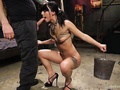 Killing Hot Brazilian Babe Gina Valentina Gets Punished In The Basement