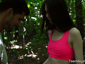 Flat Chested Pale Girl Sunny Honey Is Fucked By Tanned Boyfriend